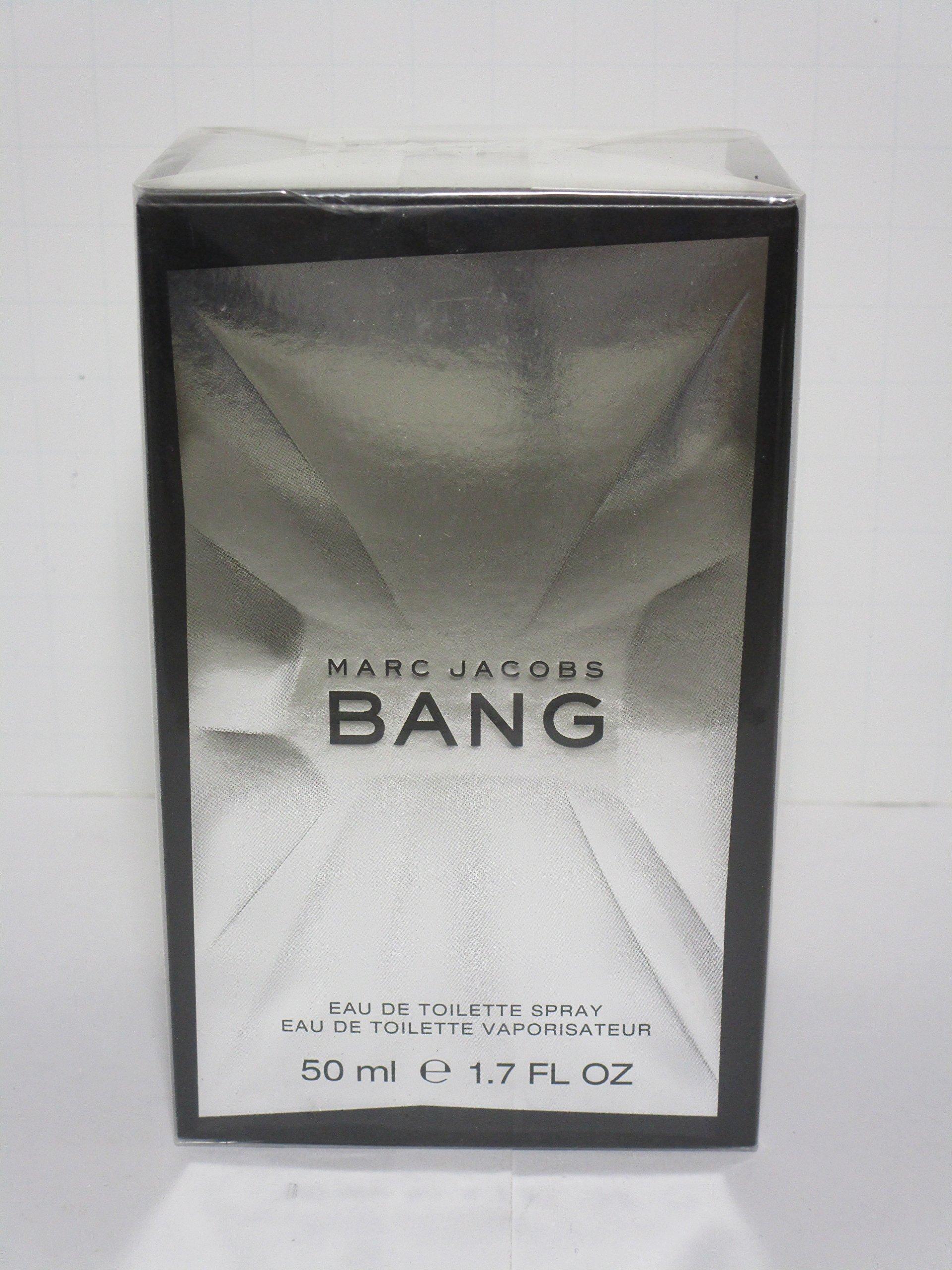 Bang by Marc Jacobs Eau De Toilette Spray for Men, 1.70 Ounce
