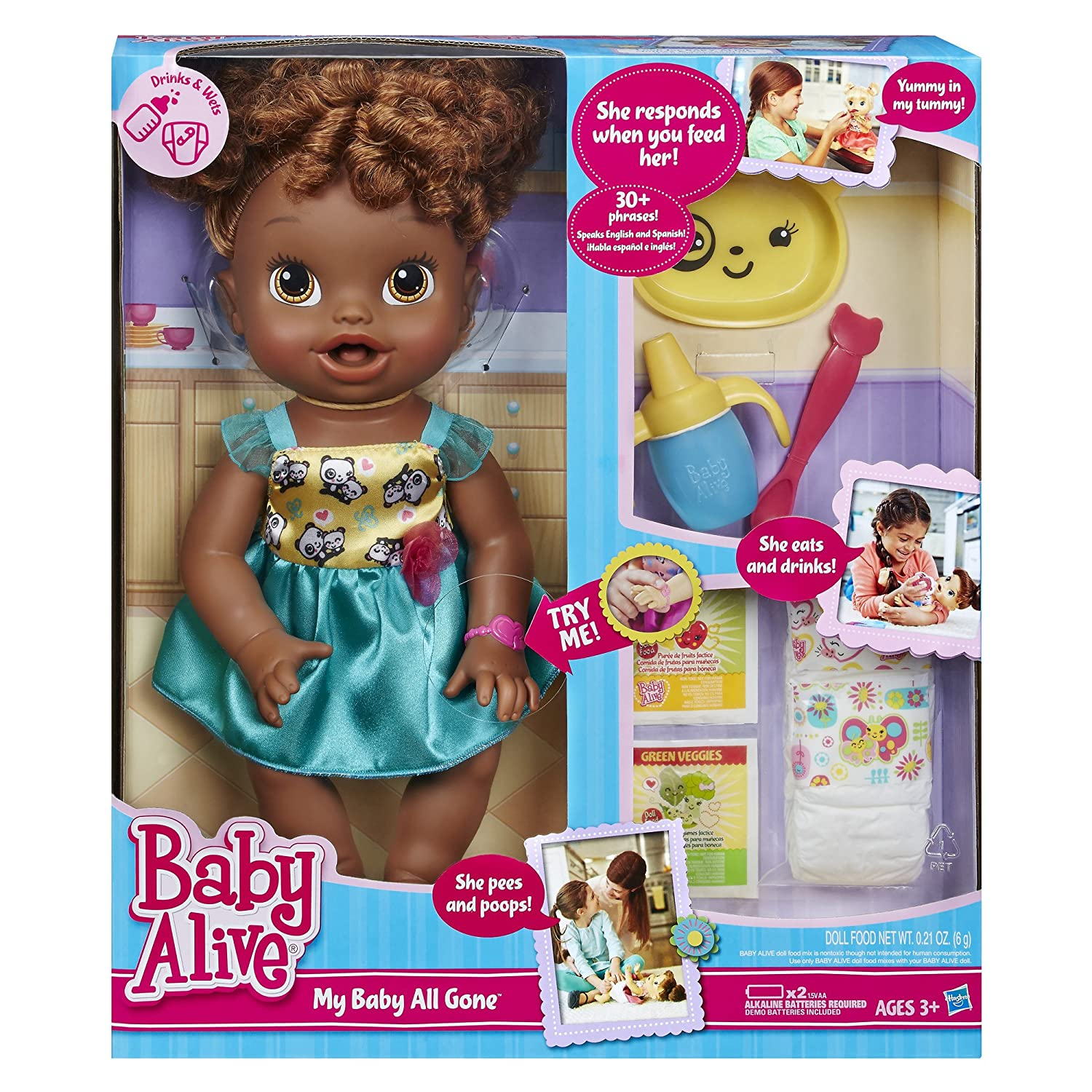 Image result for Black baby alive dolls