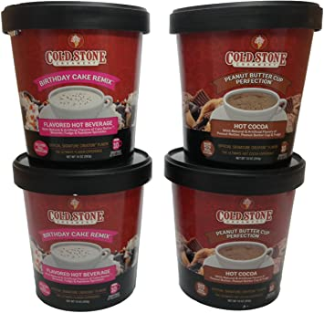 Birthday Cake Remix Peanut Butter Cup Hot Cocoa 10 Ounce Variety Pack Of 4