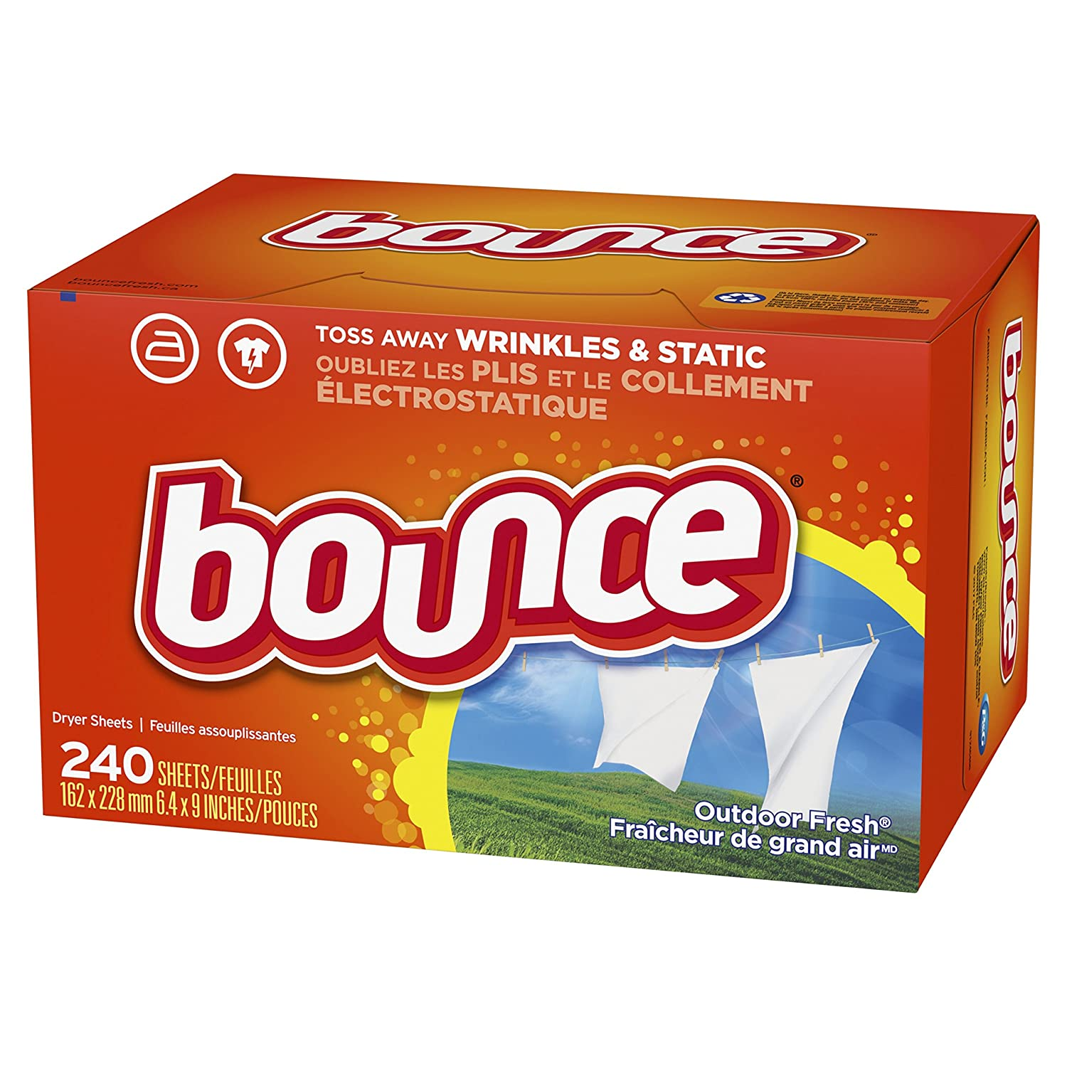 Bounce Fabric Softener Sheet's...
