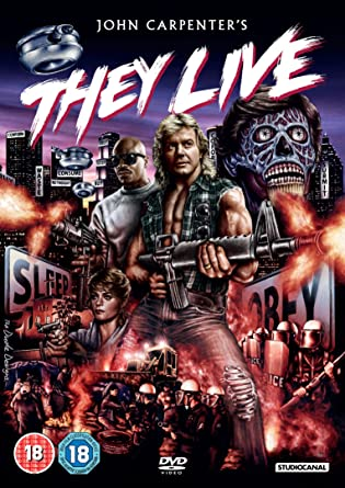 They Live Dvd Amazoncouk Roddy Piper Keith David Meg Foster