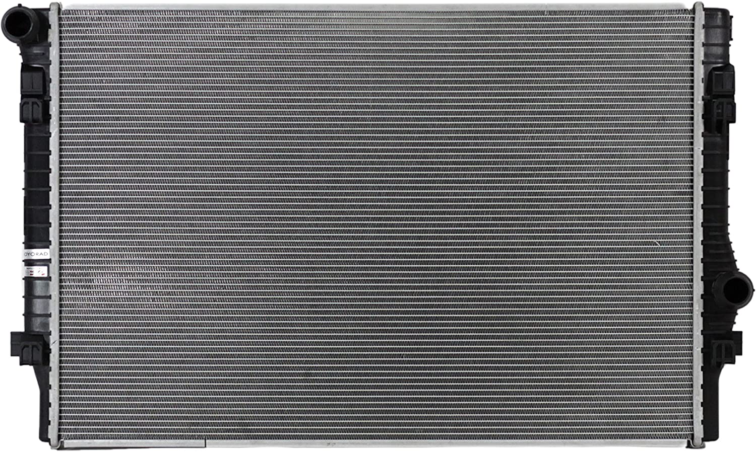 Radiator Assembly Aluminum Core Direct Fit for Audi Volkswagen 1.8L 2.0L New
