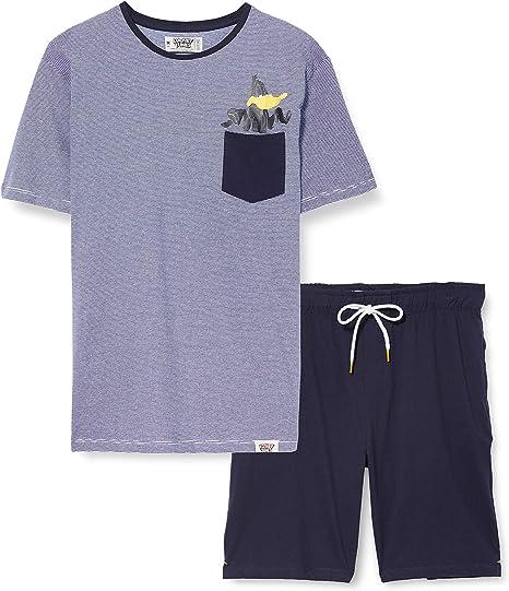 Springfield Pantalones de Pijama para Hombre: Amazon.es: Ropa y accesorios