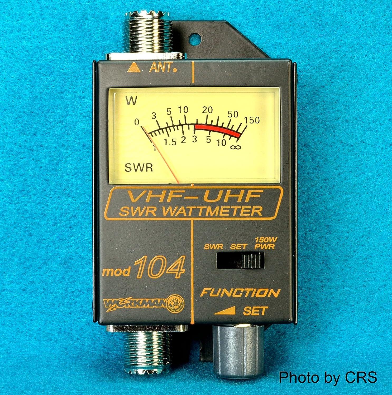 Amazon Swr Power Meter For Vhf Uhf Ham Radio 120 500 Mhz