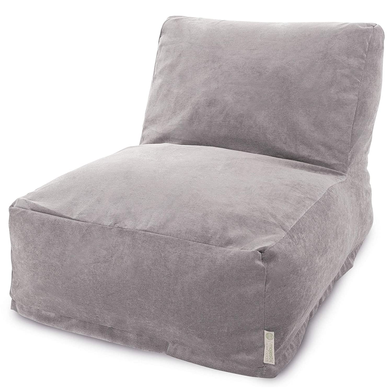 Majestic Home Goods Villa Vintage Bean Bag Chair Lounger
