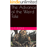 The Advance of the Weird Tale book cover