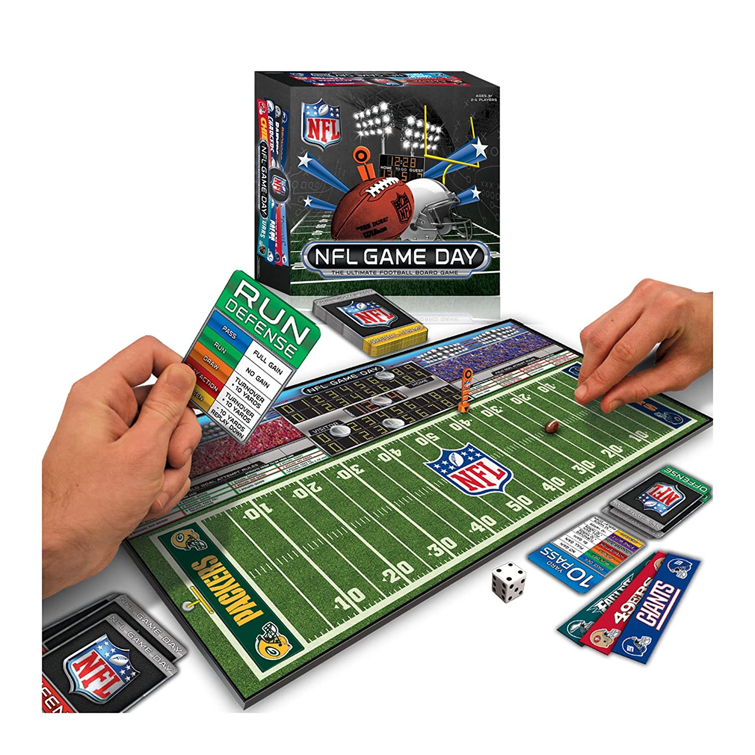 amazoncom nfl game day board game toys games - Nfl Christmas Day Game 2014