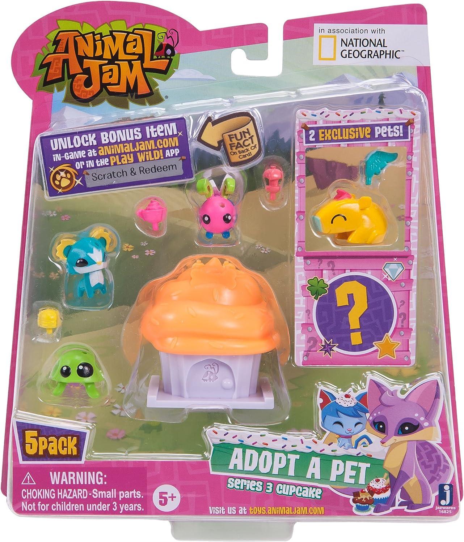 Style 4 Animal Jam Series 3 Adopt a Pet 5 Pack