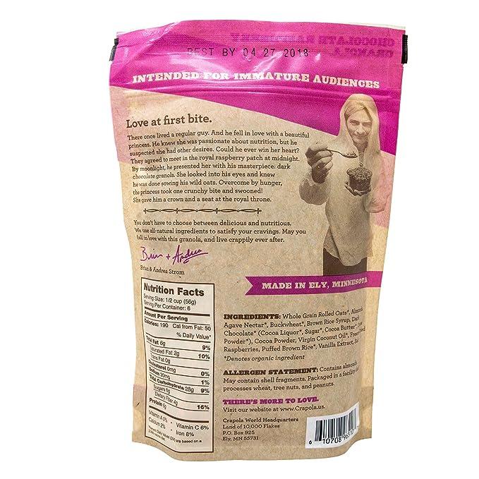 CRAPOLA! Cereales de granola de arándano y naranja (todo natural ...