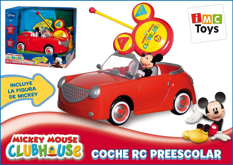 IMC Toys - Coche Mickey RC Preescolar Pilas Figura Extraible 43-180062: Amazon.es: Juguetes y juegos