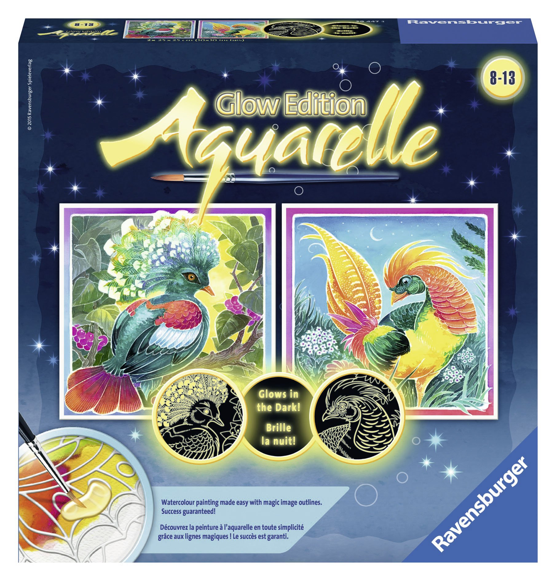 Ravensburger Magic Aquarelle Birds Arts & Crafts Kit