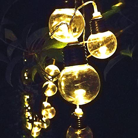 Sogrand 30 bulbs solar string lights warm white led solar lights sogrand 30 bulbssolar string lightswarm white ledsolar lights outdoor aloadofball Image collections
