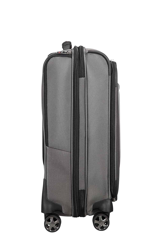 Gris 37.5 Liters cm Mobile Office Spinner 56 Quickaccess 3.3 KG Equipaje de Mano Magnetic Grey SAMSONITE Pro-DLX 5