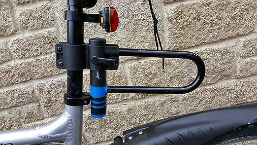 MokenEye Bike U Lock with Strong Cable Heavy Duty Bicycle U-Lock with Mount 1...