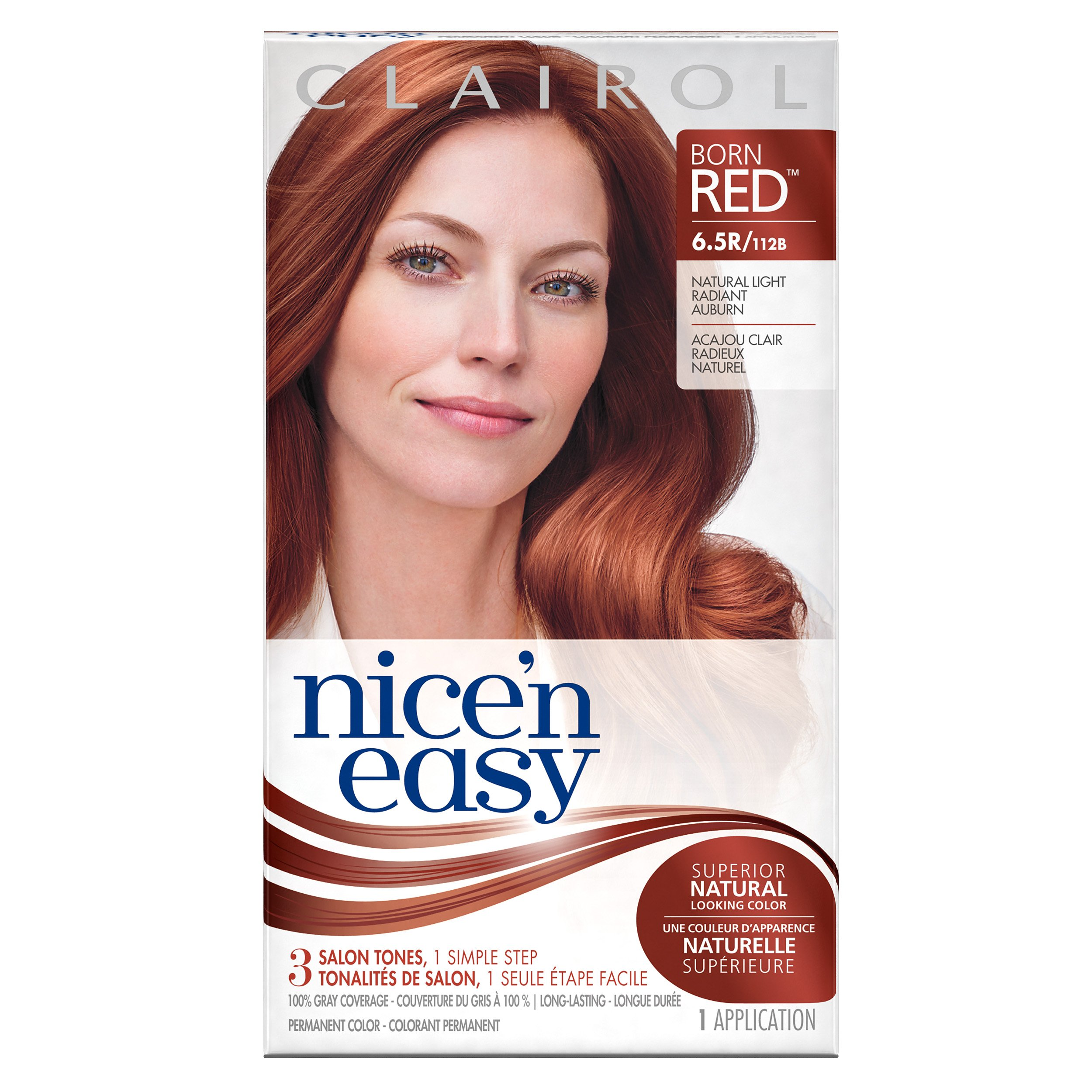 Amazon Nice N Easy Permanent Hair Color 65r Natural Light