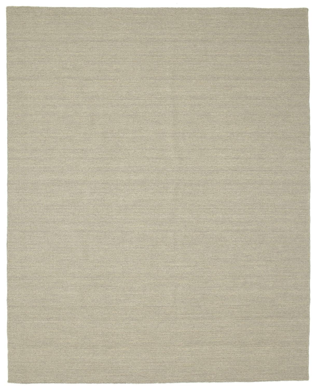 CarpetVista Kelim loom - Hellgrau Beige Teppich 200x250 Moderner Teppich