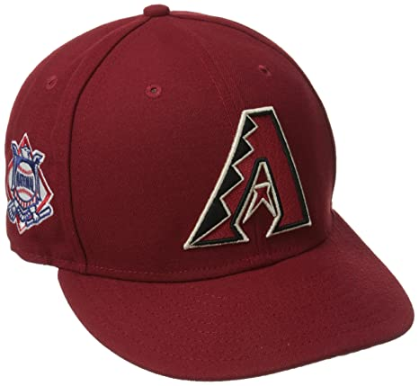 Amazon.com   New Era MLB Baycik 9FIFTY Snapback Cap   Sports   Outdoors 2fad9fe20c7