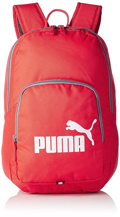 Puma Puma Phase Backpack 21 Ltrs Red Casual Backpack (7358919)  Amazon.in   Bags, Wallets   Luggage e332b35e62