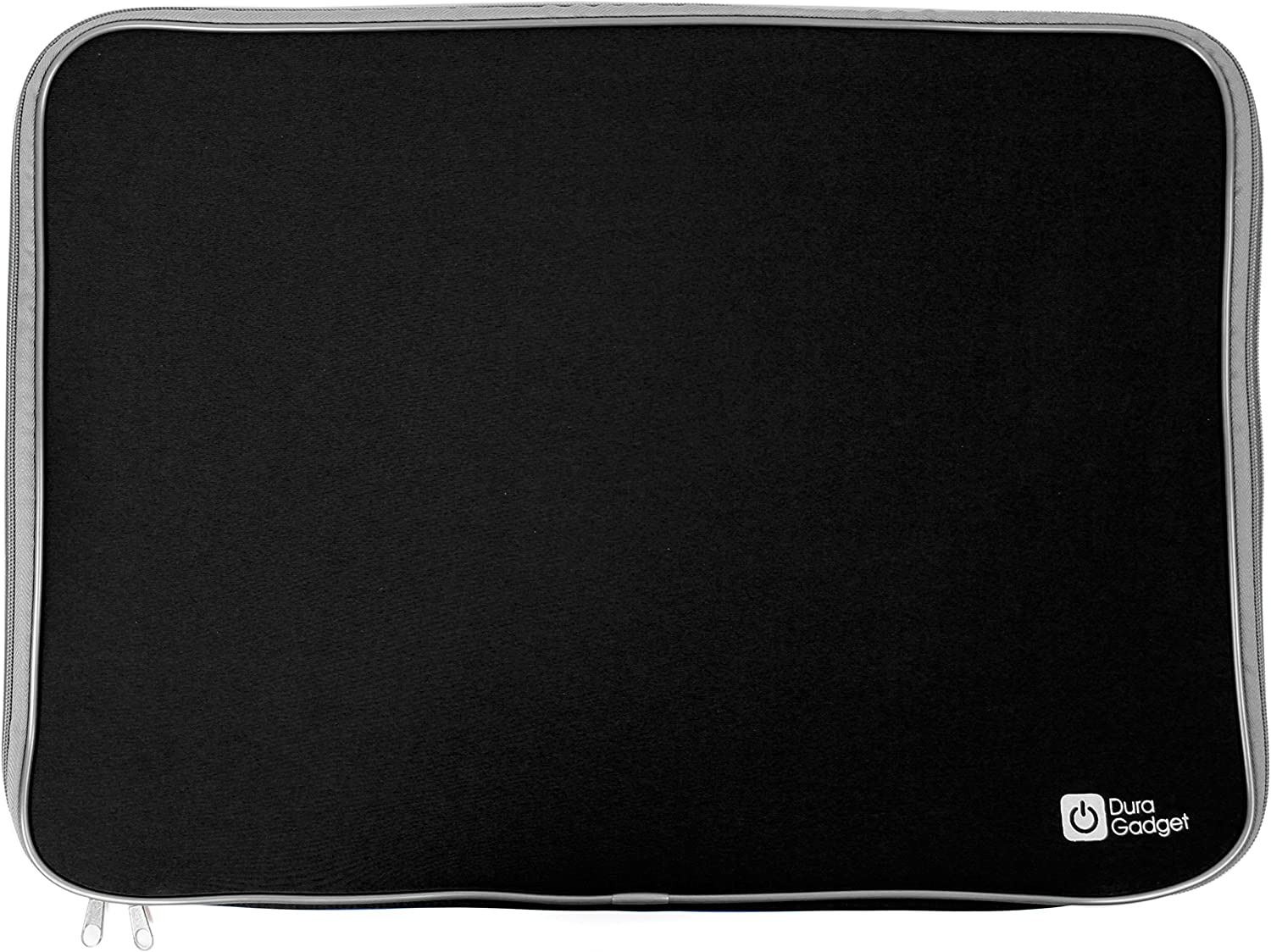 "Black 18"" Water-Resistant Padded Laptop Sleeve - for Acer Aspire V Nitro VN7-791G - by DURAGADGET"