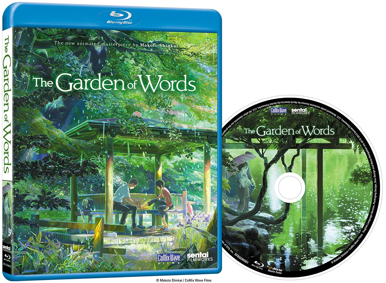 Amazoncom Garden of Words Bluray Maggie Flecknoe Patrick