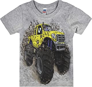 product image for Shirts That Go Little Boys' Big Yellow Monster Truck T-Shirt