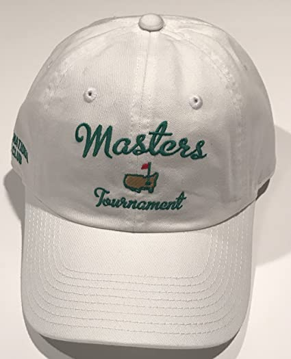 a8331caa5c642 Masters golf Hat white script logo new 2019 pga at Amazon s Sports ...