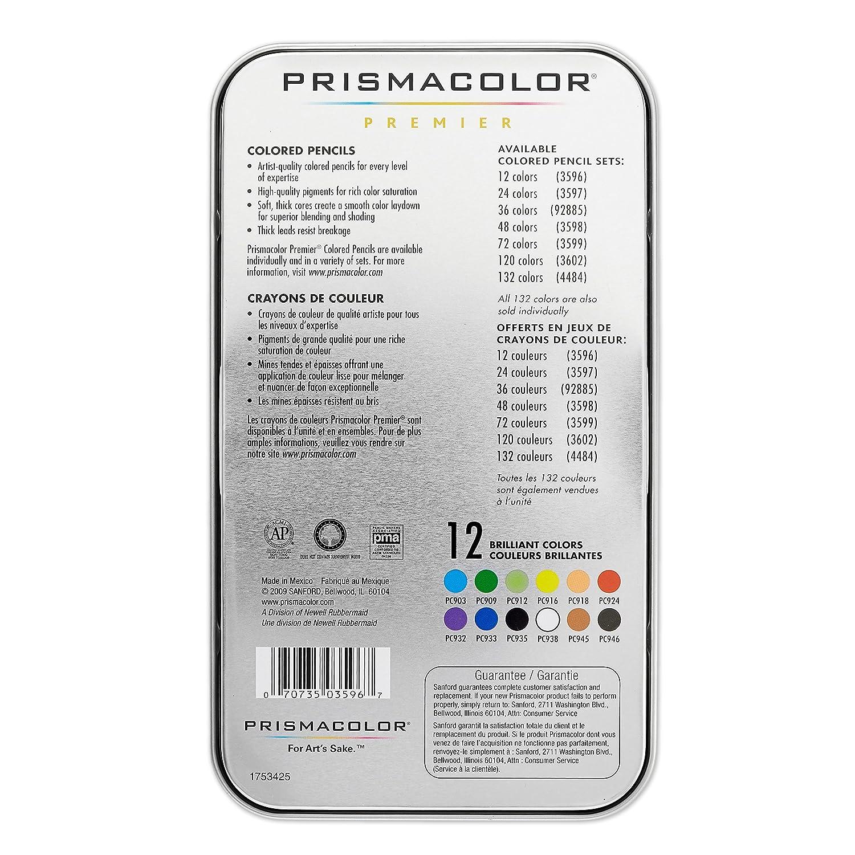 Amazon prismacolor premier colored pencils soft core 12 amazon prismacolor premier colored pencils soft core 12 count wood colored pencils office products nvjuhfo Choice Image