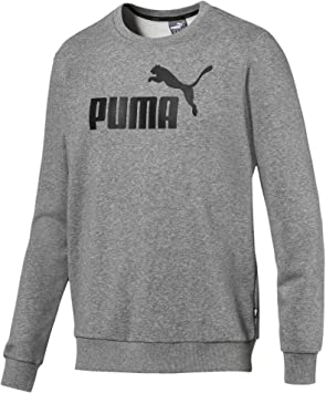 PUMA ESS Crew Sweat TR Big Logo Shirts Homme