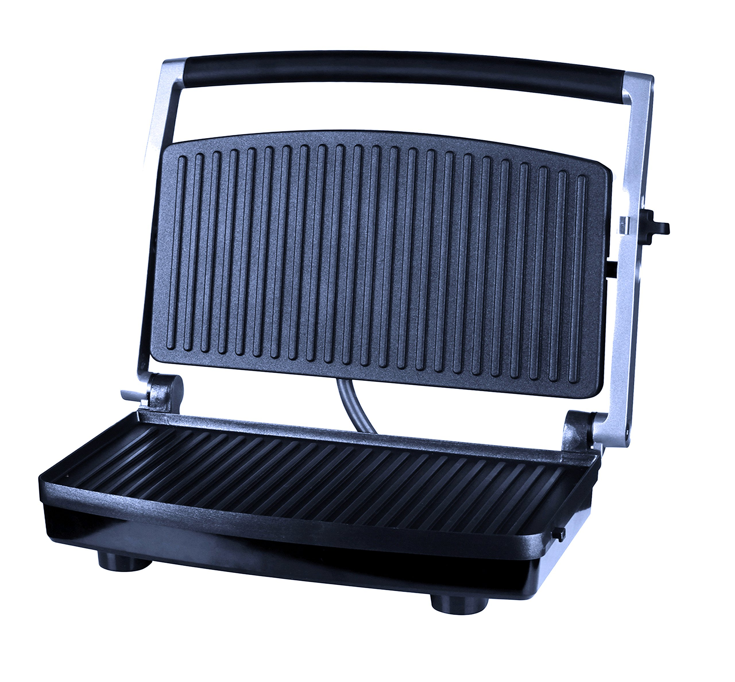 ZZ SM303 Burger Grill, Sandwich Maker, Panini Press, Steaks Griller or Grill, Silver by ZZ (Image #1)