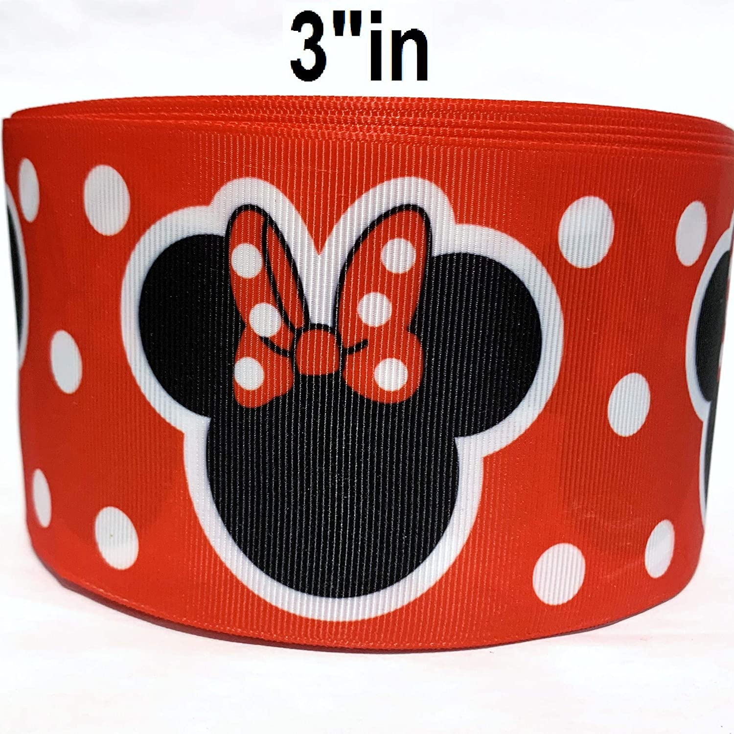 """Black Silver Foil Dots  3/"""" grosgrain ribbon the listing is for 2 yards"""