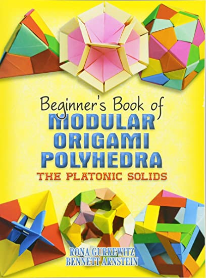 Dover Publications Beginners Book Of Modular Origami