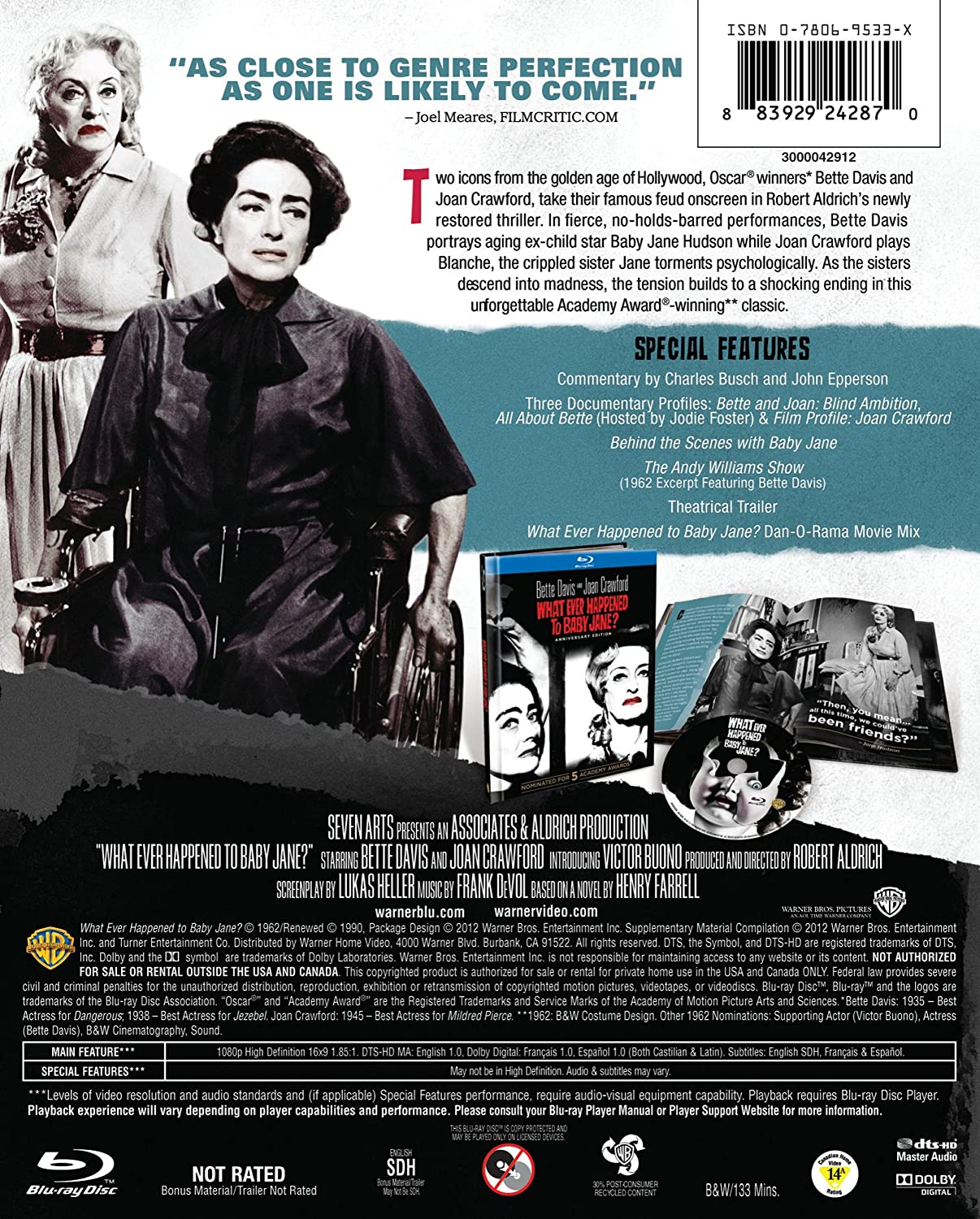 Amazon.com: What Ever Happened to Baby Jane? 50th Anniversary (BD ...
