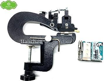 DIY Leather Craft Edge Skiving Machine Leather Splitter Skiver Paring Machine