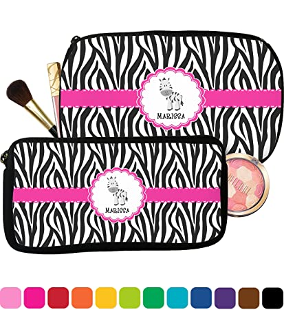5733febe1 Zebra Makeup Bags Personalized | Saubhaya Makeup
