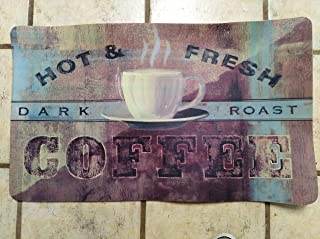 product image for 18 x 30 x .5 Inch Fatigue Coffee Rug