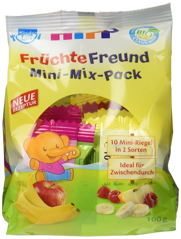 HiPP Früchte-Freund Mini-Mix-Pack, 6er Pack (6 x 100 g) DA31350-01 Baby; Kleinkind