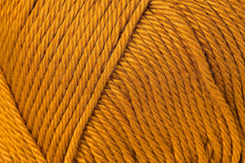 11,5 x 5,2 x 6 cm Schachenmayr Catania 100/% algod/ón marr/ón Hilo para Tejer algod/ón