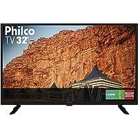 """TV LED 32"""" Philco PTV32G50D HD com Conversor e Receptor Digital 2 HDMI 1 USB - Preto"""