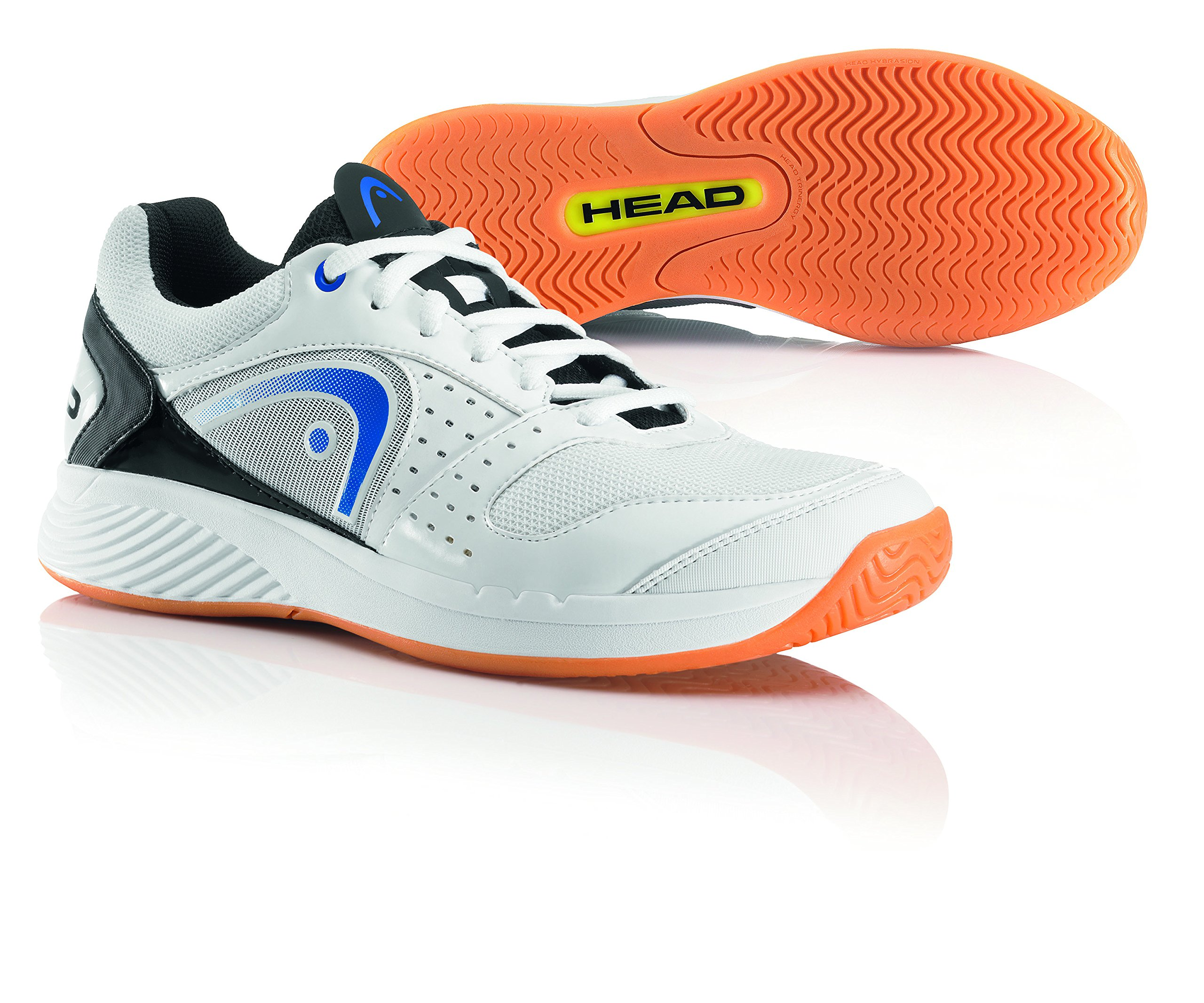 HEAD Sprint Team Mens Indoor Court Shoe (White/Blue/Black) (9)