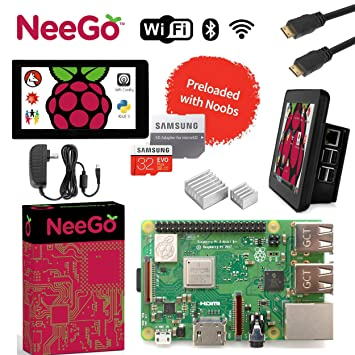 Amazon.com: Raspberry Pi 3 + Ultimate Kit de iniciación ...