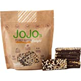 JOJO's Chocolate Peanut Butter Delight 8.4oz Bags 7 Bars Per Bag, NON-GMO, Gluten Free, Paleo Friendly, Plant Based Protein, Dairy Free German Chocolate