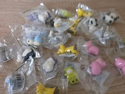 20 goma de borrar Animales Formas Eraser obsequios ...