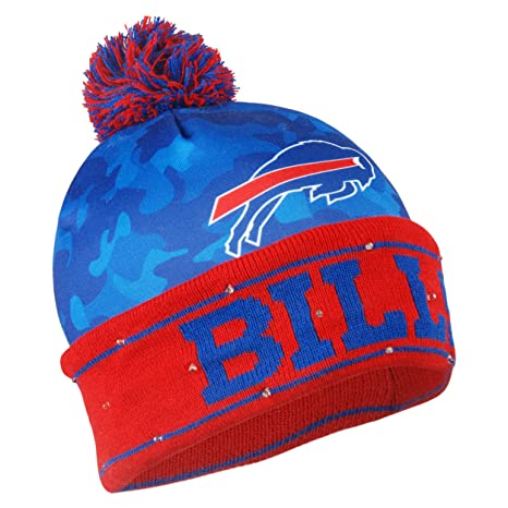 Amazon.com   Buffalo Bills Camouflage Light Up Printed Beanie ... 67f2cc1e8