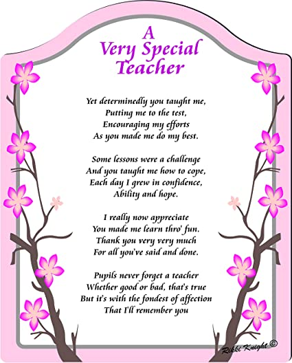 you are special poem