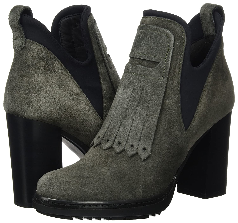 4903/1, Hi-Top Slippers Femme - Vert (Poivre) 38 EUPeperosa