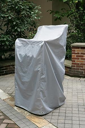 Housse De Protection Pour Pile Chaises Hauteur 105 145cm Avec Oeillets Chroms Et