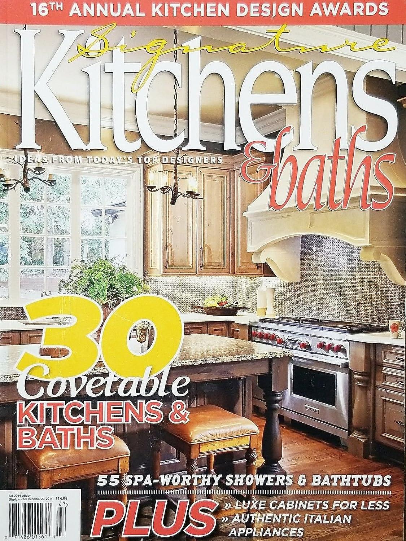 Amazon.com : SIGNATURE KITCHENS & BATHS, FALL, 2014 (30 ...