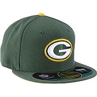 New Era Era, Cappellino da Baseball Unisex Adulto NFL On Field bay Packers 59 Fifty Fitted