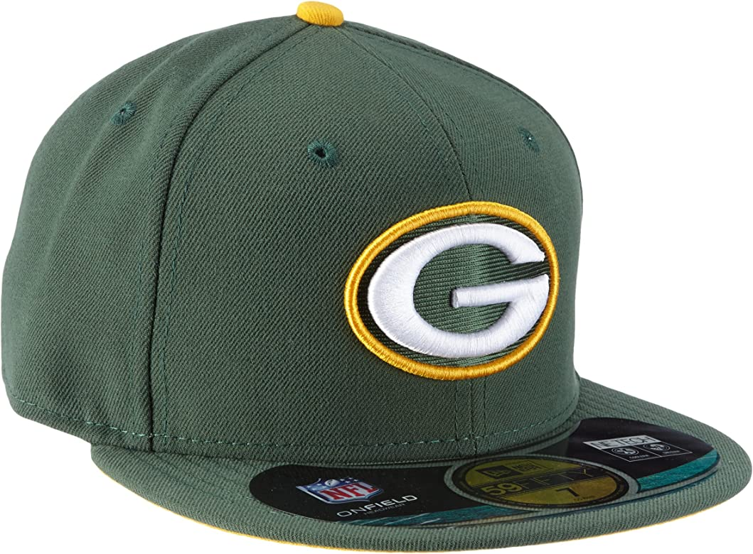 Unisex-Adultos - New Era - Green Bay Packers - Gorra (7 1/8 ...