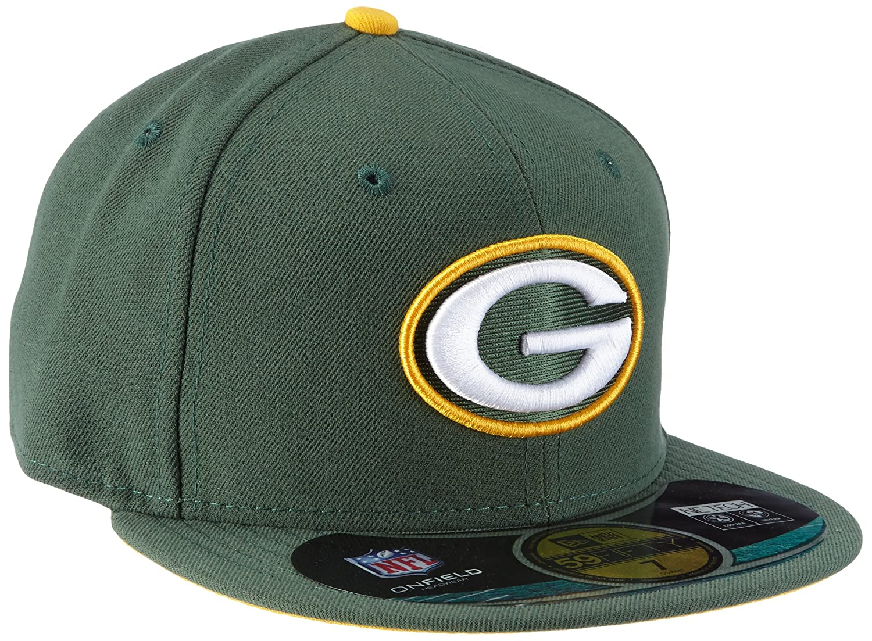 New Era Erwachsene Baseball Cap Mü tze NFL On Field Bay Packers 59 Fifty Fitted 10529767